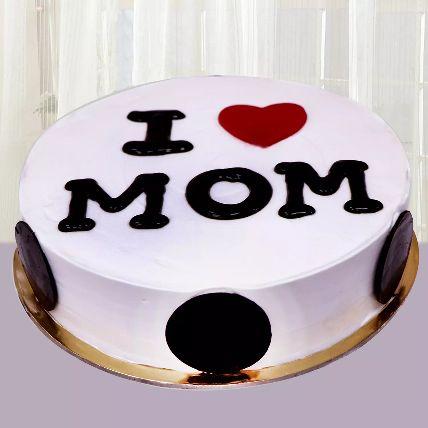 I Love Mom Cake Half Kg