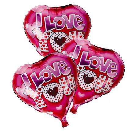 I Love You Foil Balloons