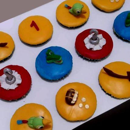 Jake And Neverland Red Velvet Cupcakes