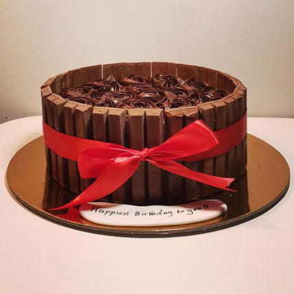 كيكة شوكولاتة كيت كات- 1.5 كجم