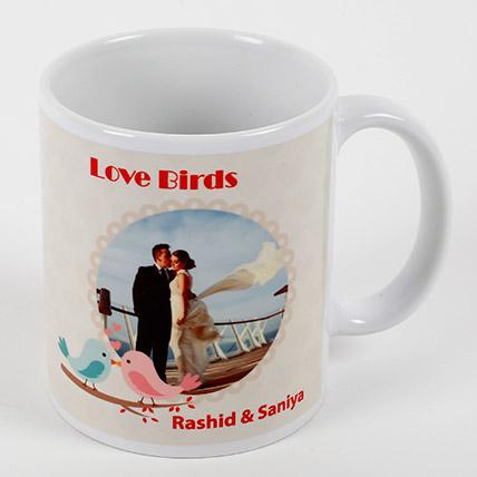 Love Birds Personalized Mug