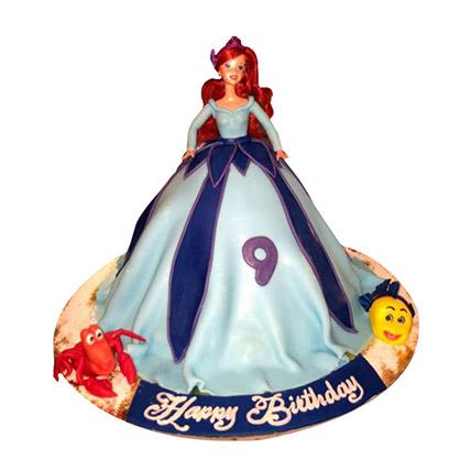 Lovely Doll Cake