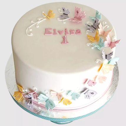 Magical Butterflies Vanilla Cake 1.5 Kg