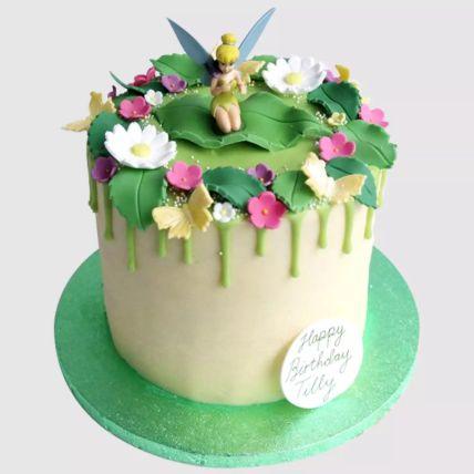 Magical Tinker Bell Vanilla Cake 1.5 Kg
