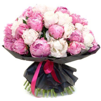Mix Coloured Peonies Bouquet
