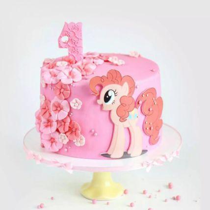 My Little Pony Pinkie Pie Red Velvet Cake 2 Kg