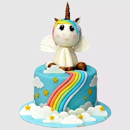 Mystic Unicorn Chocolate Cake 3 Kg