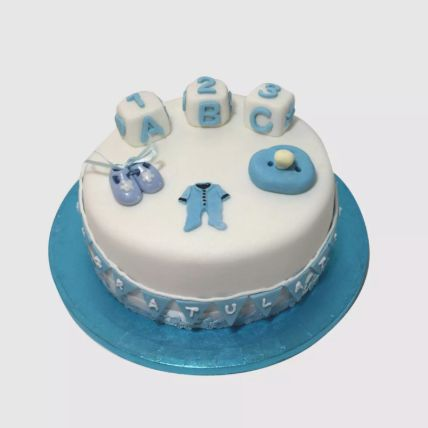 New Born Baby Adorable Cake 2 Kg