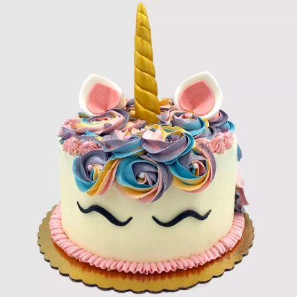 Pretty Unicorn Red Velvet Cake 1 Kg