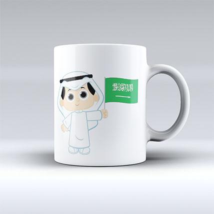 Printed Saudi Arabia Mug