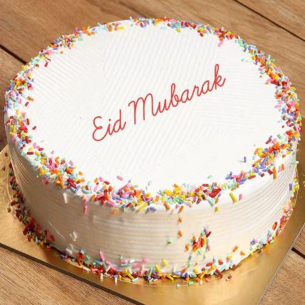 Rainbow Cake For Eid 8 Portion