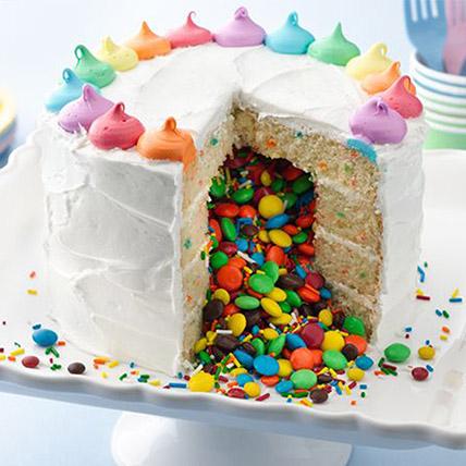 Rainbow Surprise Cake 1 Kg