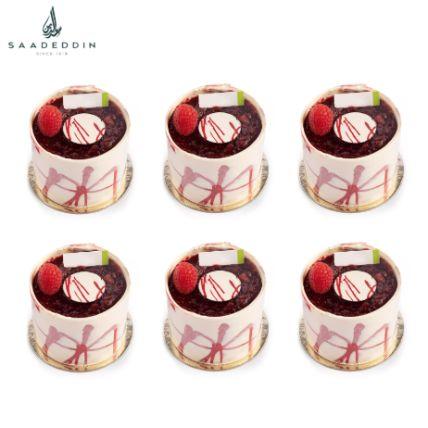 Rasberry Delice Piece 6 Pcs