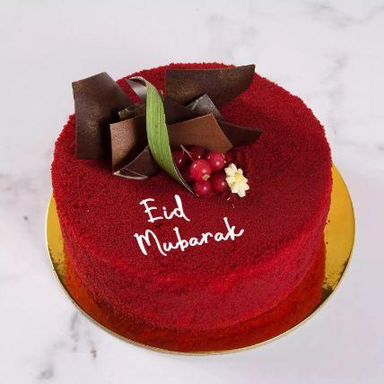 Red Velvet Cake For Eid 4 Portion