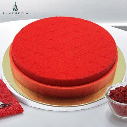 Red Velvet Cake Medium 8 Portions