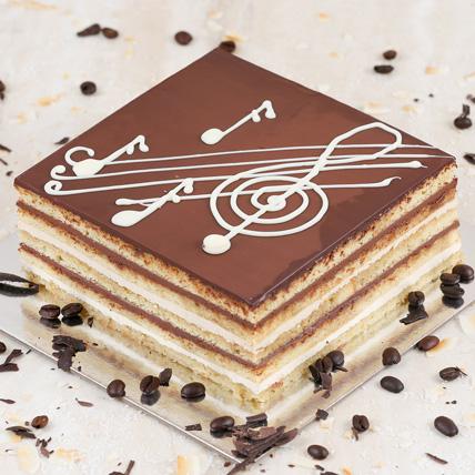 Rich French Opera Cake Half Kg