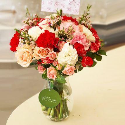 Scintillating Floral Mix
