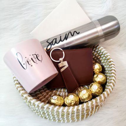 Show Him Love Gift Basket