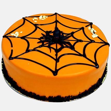 Spider Web Halloween Cake 1Kg