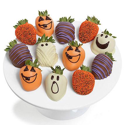 Spooky Chocolaty Strawberries