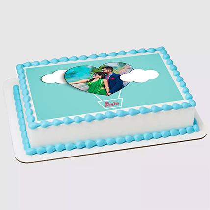 Unicorn Special Photo Vanilla Cake 1.5 Kg