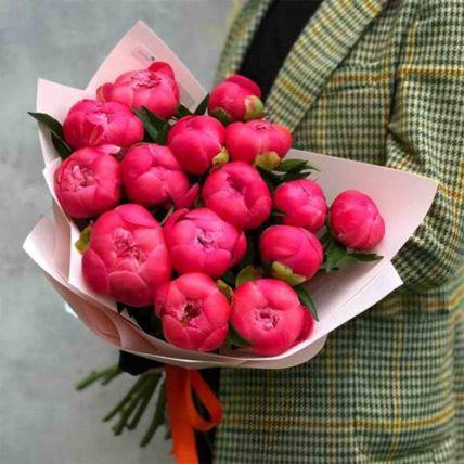 Uptown Love Peonies Bouquet