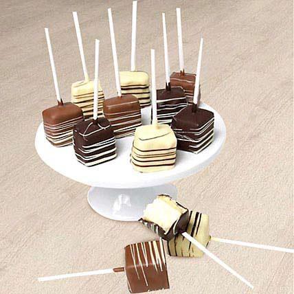 Yummy Belgian Cheesecake Pops