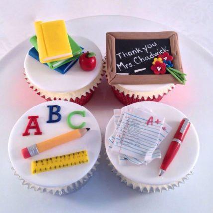 Yummy Cupcake For Teacher