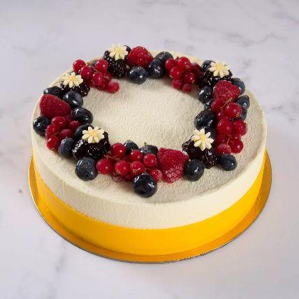 Yummy Vanilla Berry Cake 1.5 Kg