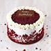 1.5 Kg Creamy Red Velvet Cake for Birthday