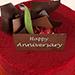 2 Kg Red Velvet Cake For Anniversary