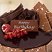 500Gm  Fudge Cake For Birthday