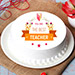 Best Teacher Chocolate Cake 1 Kg