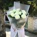 باقة الورد الأبيض