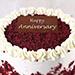 Creamy Red Velvet Cake 1 Kg for Anniversary