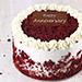 Creamy Red Velvet Cake Half Kg For Anniversary