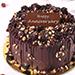Crunchy Chocolate Hazelnut Cake 4 Portion for Anniversary