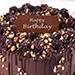 Crunchy Chocolate Hazelnut Cake 4 Portion for Birthday