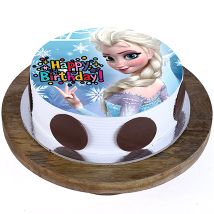 Frozen Princess Elsa Cake