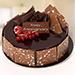 Half Kg Fudge Cake For Anniversary