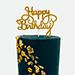 كيكة عيد ميلاد سعيد راقية بالفانيليا 1.5 كجم