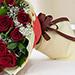 باقة الورود الحمراء الجميلة