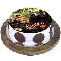 Mowgli and Baloo Cake
