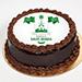 كيكة اليوم الوطني السعودي بترافل الشوكولاتة- نصف كجم