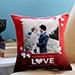 Personalised Anniversary Love Cushion