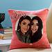 Personalised Pink Birthday Cushion